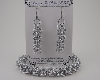 Inverted Round Chainmaille Jewelry