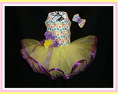 Happy Easter Dog Dress Jelly Bean Easter Candy Princess Dog Dress!  Prettiest Pets Designs