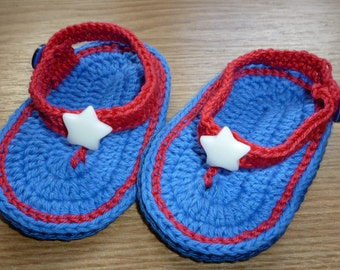 American, Crochet Baby Shoes, Crochet Baby Booties, Crochet Baby Flip Flops, Crochet Baby Sandals, Baby boy Shoes, Baby Shoes
