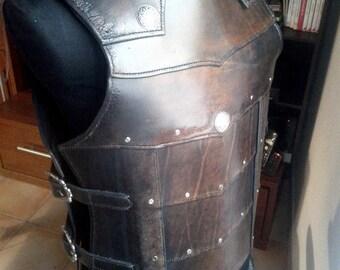 Medieval plastron man