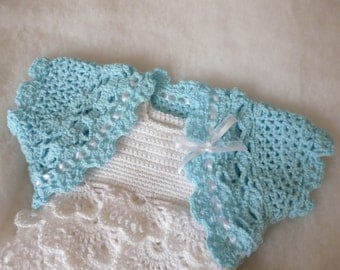 Crocheted Baby Bolero / Baby Shrug