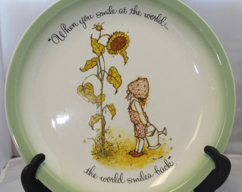 Vintage Holly Hobbie Collector's Edition plate