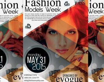 Fashion Models Week Flyer