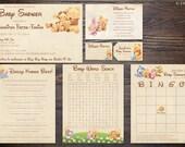 Winnie the Pooh Baby Shower Suite