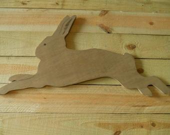 """34"""" Rabbit Sign, Primitive Rabbit, Wood Rabbit, Rabbit, Folk Art Rabbit, Primitive Bunny, Bunny Sign, Bunny, Folk Art Bunny"""