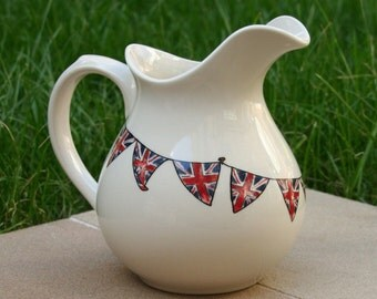 Small Jug (with union jack bunting)