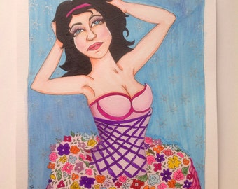 Dresses in a flower tutu