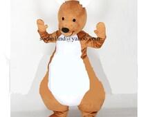 KangarooMascot Costume,Kangaroo Cosplay Costume,Adults Costume,Clothing,Kangaroo Cosplay,Kangaroo Party Costume,Kangaroo Birthday Costumes