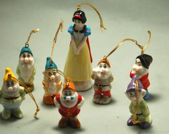 Disney - Snow White and the Seven Dwarfs - Ornaments - Very Cute