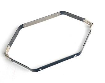 Internal Flex purse frame,Hexagon Flex frame,(20cm~35cm), Leather craft tool-LTCMLT-012