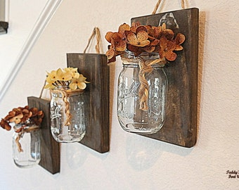 Country Decor Rustic Decor Boho Chic Wall Sconce Wall Hanging