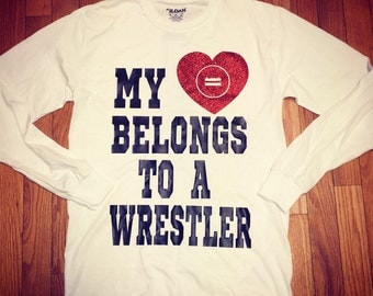 My heart belongs to a wrestler!