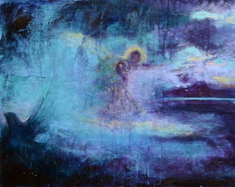 Called.  Christian Art Giclee print on Canvas