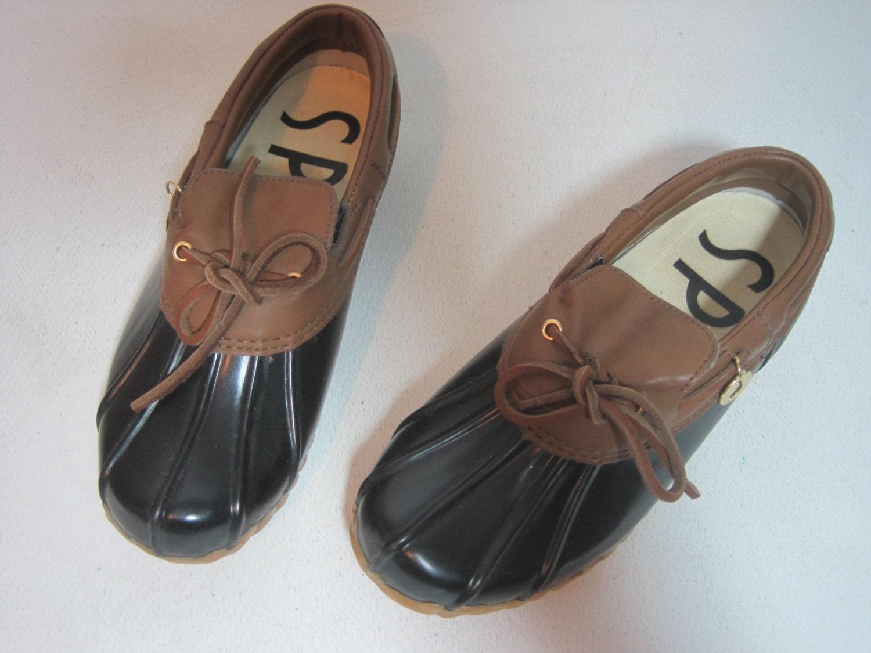 sporto duck shoes waterproof boots size 6 s