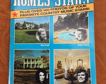 1975 Homes of the Stars with retro interior decorating