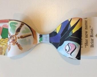 Walt Disneys sleeping beauty hair bow clip