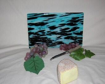 Modern Sky Blue Cheese Board