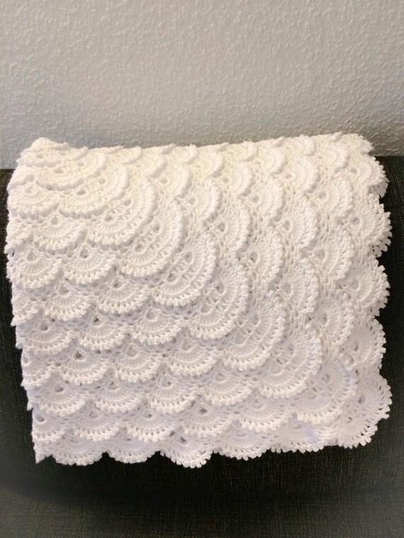 Crochet Fluffy Baby Blanket