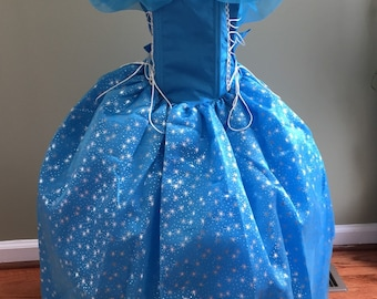 Cinderella dress , Cinderella costume dress, La Cenicienta