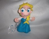 Elsa disney ispirata plush