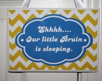 UCLA Baby Sleeping Sign