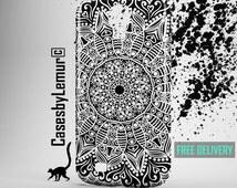 Samsung Galaxy Note 4 case Samsung Galaxy S5 case Samsung Galaxy S4 case Samsung Galaxy S3 case Samsung Galaxy S6 case cases cover Mandala