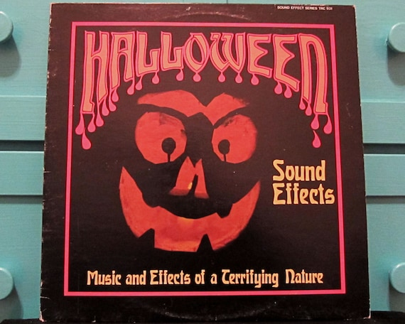 Halloween Sound Effects - Vinyl Record