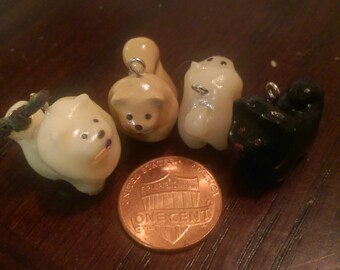 Chow Chow Miniature Charm