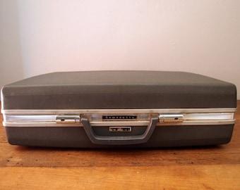 Vintage Samsonite Hard Shell Briefcase 50s 60s Mad Men