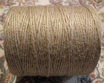 Natural Undyed Jute Burlap Twine Macrame Cord Yarn 2mm 3 Ply 10 25 or 50 Metres Beading Macrame Jewellery Packaging Gift Wrapping Gardening