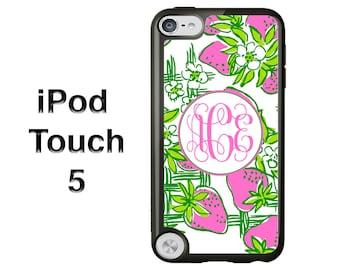 Lilly Pulitzer iPod Case - Monogram iPod Case - iPod Touch 5 Case - iPod Touch Case - iPod Touch 4 Case