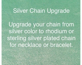 Silver chain plating upgrade - Add-on