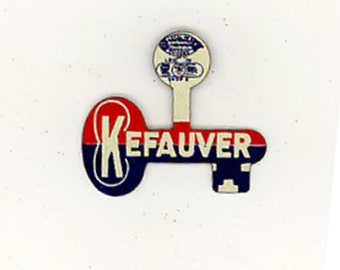 Estes Kefauver campaign tab