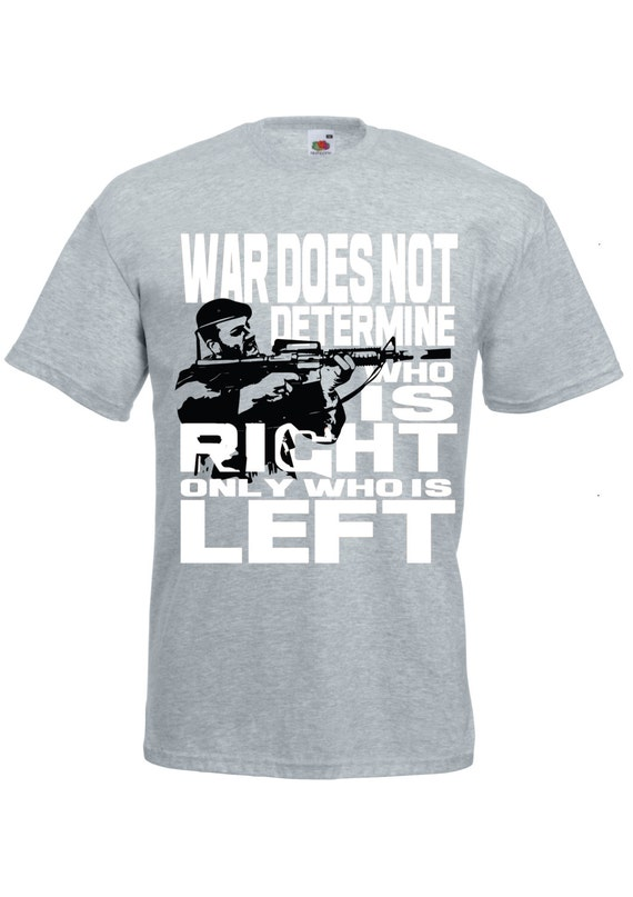 Political t shirt anti war statement tee inspirational quote tshirt