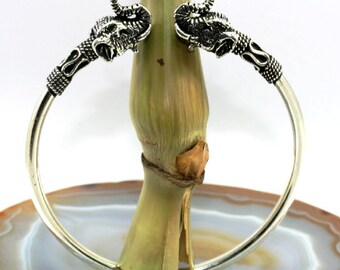Elephant , bracelet, 925 sterling silver