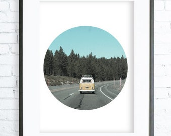 Instant DownloadPhotography Art, Printable, Road Trip Printable, Digital print, Print  Art, Print, Photography,Art Print, Geometric Print