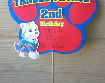 Paw Patrol Birthday Yard Sign