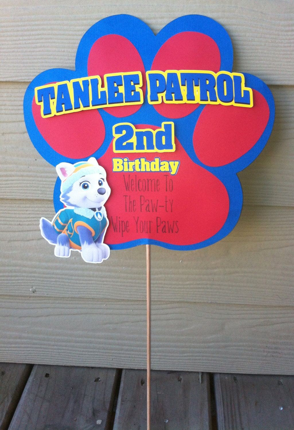 Paw Patrol Birthday Yard Sign. Little Man Banners. Kitchen Floor Murals. Skullskins Stickers. Dangerous Situation Signs. Team Banners. Spray Paint Wall Murals. Toyota Fortuner Decals. Tattoo Outline Lettering