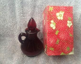 Vintage Avon Strawberry Bath Foam New in Box
