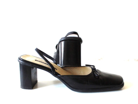 marc o 39 polo black leather women shoes by nextgemvintage. Black Bedroom Furniture Sets. Home Design Ideas