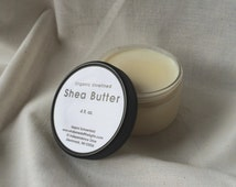 Organic Shea Butter (2 or 4 oz.) - Unrefined