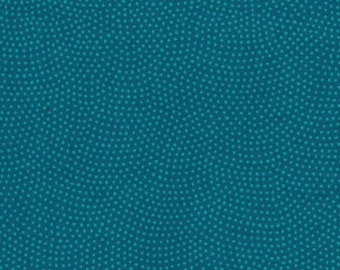 Timeless Treasures Ocean Blue Dotted Fabric