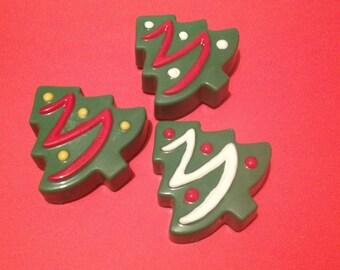 12 Chocolate Covered Christmas Trees Oreos