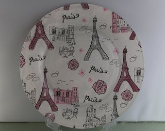 Decorative Paris Plate