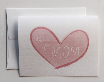 Love You Mom Card (GC051101)