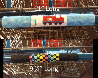 questionnaire of shopping cart handle cover A reusable sanitary cover for a conventional shopping cart handle, to protect shoppers and their infants or small children from the germ-laden surface thereof in the preferred embodiment, the cover comprises a flexible sheet of washable material that is shaped into a cylinder that securely fits.