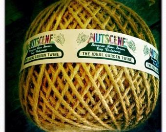 Nutscene Heritage Jute Twine Ball 130m (approx) - Saffron