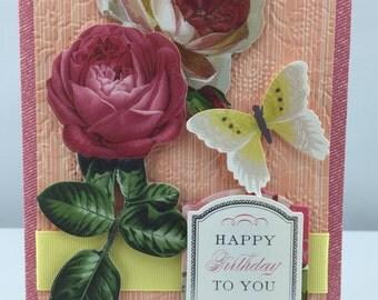 Handmade Greeting Card Birthday #170