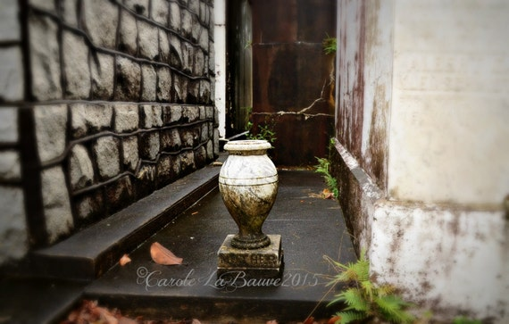 NEW ORLEANS CEMETERY Photograghy ~ Lafayette Cemetery #1 ~ Garden District ~ New Orleans, Louisiana