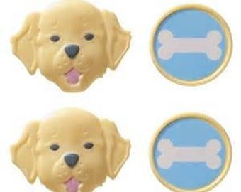 PUPPY PARTY Cupcake Rings